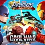 Civil War has also arrived on the university of Marvel Avengers School