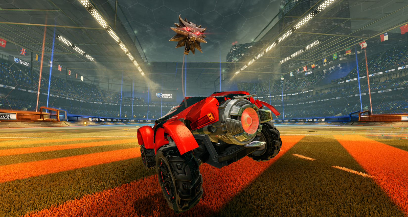 Rocket League Witcher Antenna