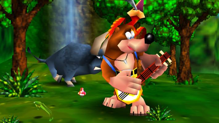 banjo-kazooie intro